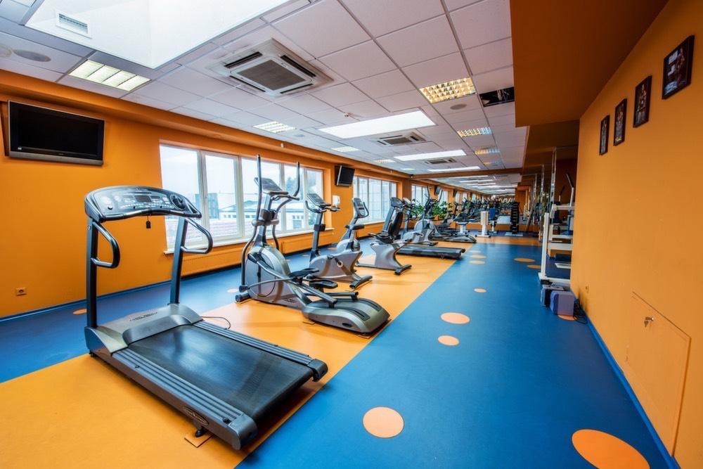 Kardio treniruoklių salė