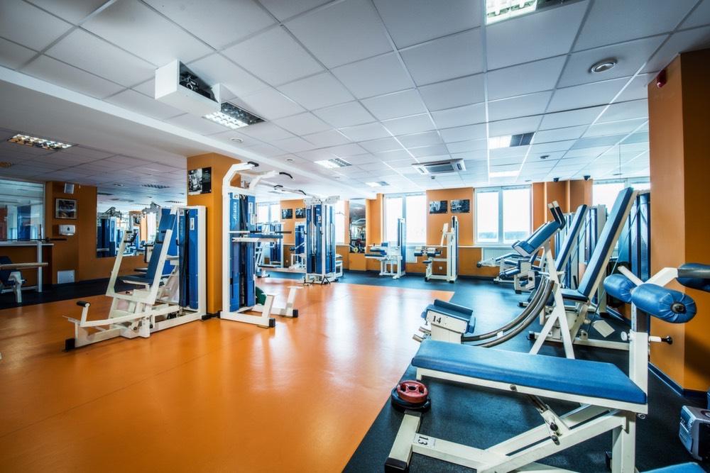 Jėgos treniruoklių salė